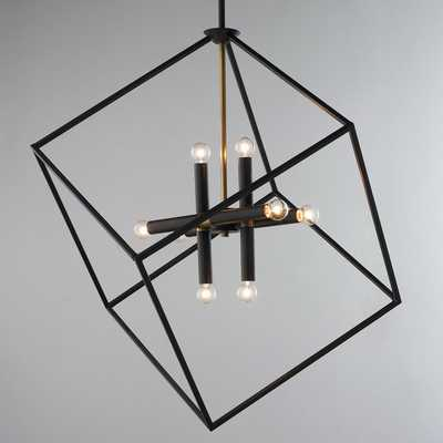 BE SQUARED MODERN CHANDELIER - Shades of Light