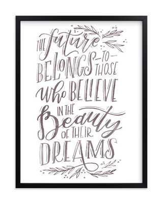 The Beauty Of Dreams Art Print - Minted