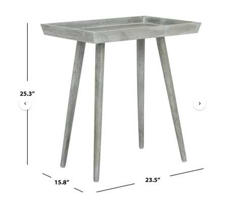 Orion Tray Top End Table - Wayfair