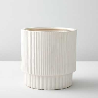 Fluted Planters - Medium - West Elm