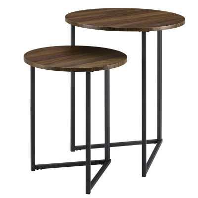 Mcnett 2 Piece Frame Nesting Tables - Wayfair