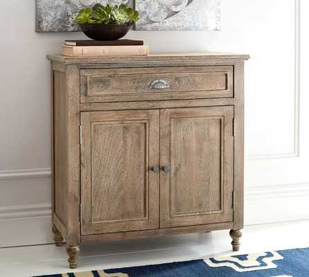 Astoria Storage Cabinet, Rosedale Brown - Pottery Barn