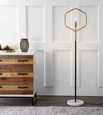 Mave Floor Lamp - Gold/Black - Arlo Home - Arlo Home
