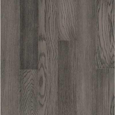Hydropel Oak Medium Gray 7/16 in. T x 5 in. W x Varying Length Waterproof Engineered Hardwood Flooring (22.6 sq. ft.) - Home Depot