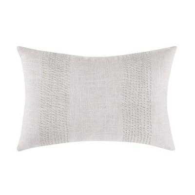 Cove Oblong Pillow in Neutral - Home Depot