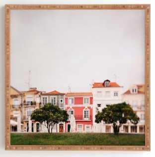 In Lisbon Framed Print - Wander Print Co.
