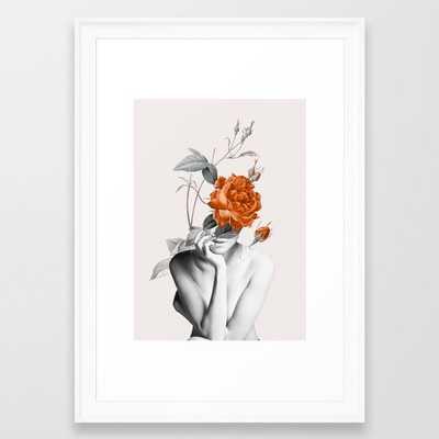 Rose 3 Framed Art Print - Society6