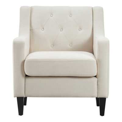Nina Armchair / Ivory Cream - Wayfair