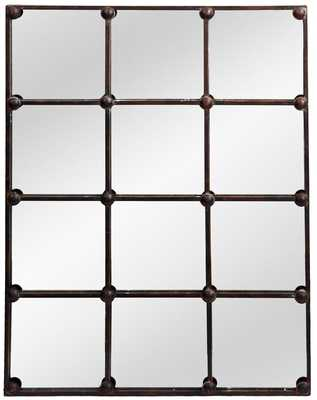 Rutan Cast Iron Rectangle Accent Mirror - Wayfair