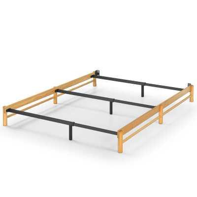 Zadie Heavy Duty Bed Frame, Full/Queen - Wayfair