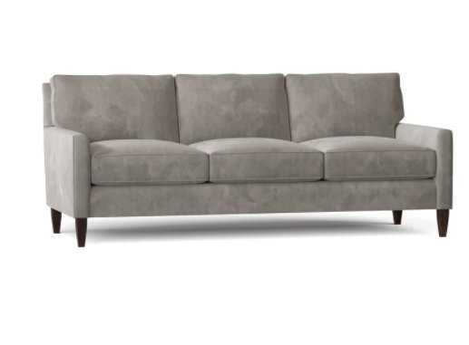 "Chloé 80"" Square Arm Sofa / Empire Dove - Wayfair"
