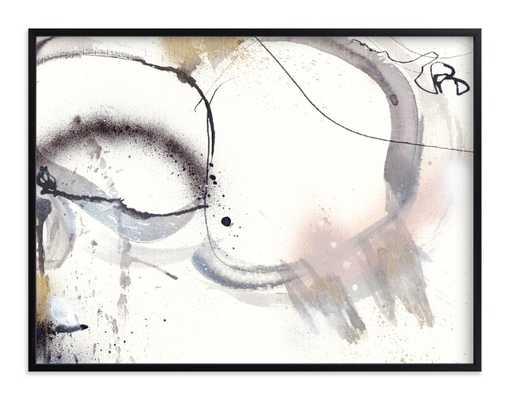 Salty - 40 x 30 - black wood frame - Minted
