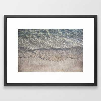 Water Photography Shoreline | Ocean Wave | Wave | Sea Framed Art Print - Society6