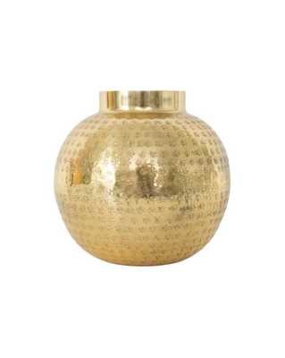 HAMMERED VASE - McGee & Co.