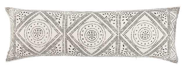 Swett Cotton Geometric Lumbar Pillow - Wayfair