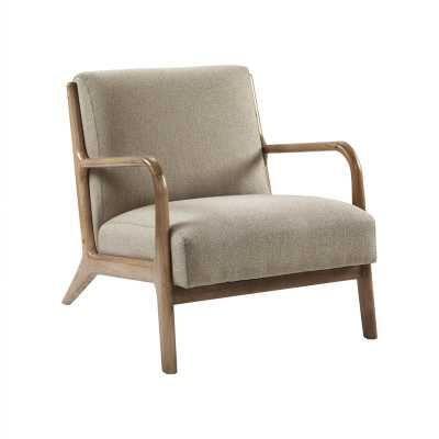 Ronaldo Armchair, Taupe - in stock 4/27 - Wayfair
