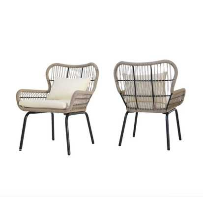 Chesson Club Chair - Set of 2 - Wayfair