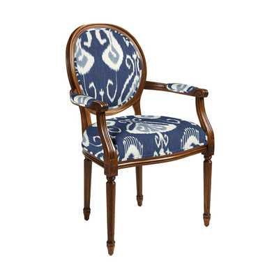 Oval Back Louis XVI Armchair - Ballard Designs