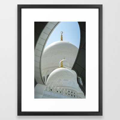 Grand Mosque Abu Dhabi Framed Art Print by Groppo - Society6
