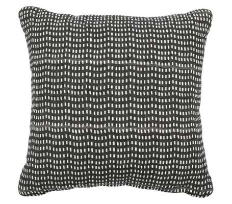 Square Printed Pillow Black - Project 62™ - Target