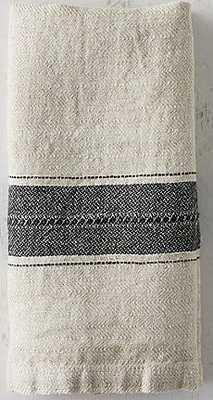 Washed Linen Stripe Napkin - shopterrain.com