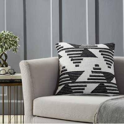 Matson Square Cotton Pillow Cover - Wayfair