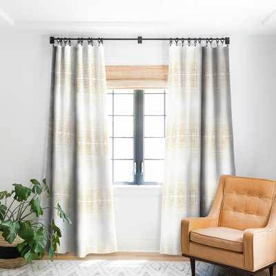 "DECO GOLD Blackout Window Curtain, single panel - 96"" - Wander Print Co."