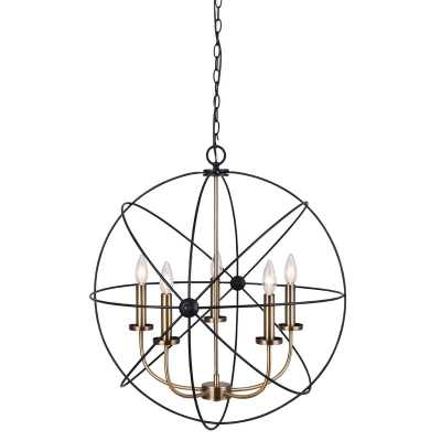 Waldron 5-Light Globe Chandelier - Wayfair