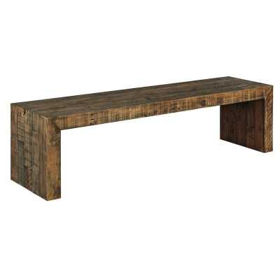 Gino Solid Wood Bench - Wayfair