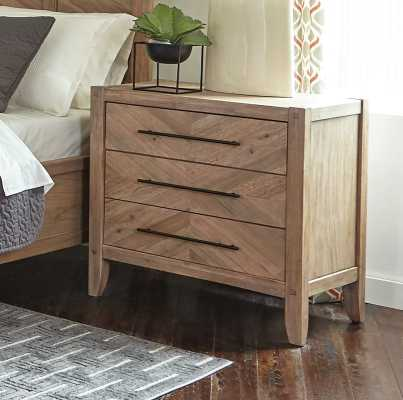 3 Drawer Nightstand - Wayfair