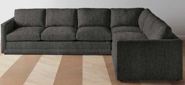 """The Warren  L Sectional - Right: 127"""" / Left: 98"""" - Maiden Home"""