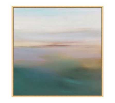 Coastal Cabana Gallery Wall - Blurred Skies - Pottery Barn