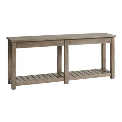 Graywashed Cameron Console Table - World Market/Cost Plus