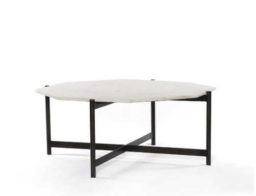Adair Coffee Table in Various Materials - Burke Decor