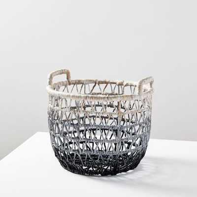 Ombre Triangle Weave Baskets - West Elm