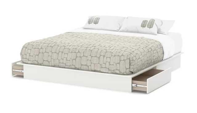 Step One Storage Platform Bed - Wayfair