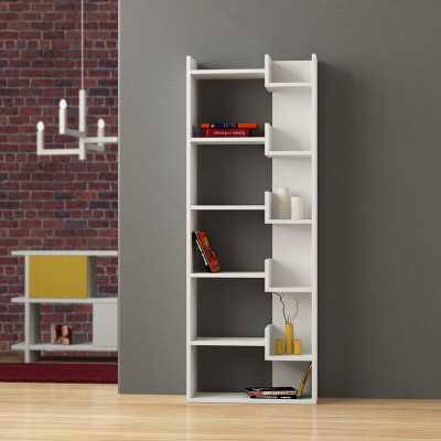 Sinquefield Geometric Bookcase - Wayfair