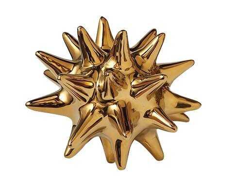 Chaidez Urchin Shiny Gold Object - Wayfair