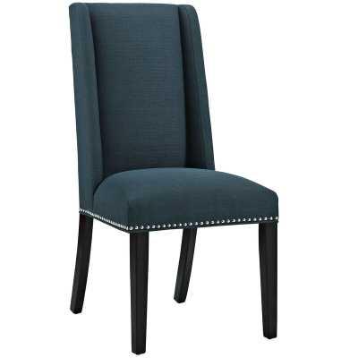 Gabilan Upholstered Parsons Chair - Azure (Set of 4) - Wayfair