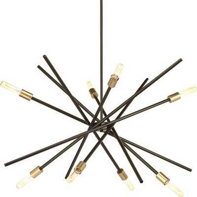 Cedillo 8 - Light Sputnik Modern Linear LED Chandelier - AllModern