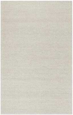 Arlo Home Hand Woven Area Rug, NAT801G, Silver/Ivory,  8' X 10' - Arlo Home