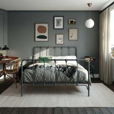 Viviana Farmhouse Metal Platform Bed - Wayfair