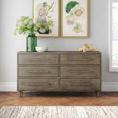 Songer 6 Drawer Double Dresser - Wayfair