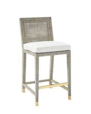 Balboa Counter Stool - Mist - Serena and Lily