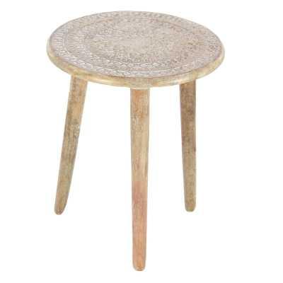 Saltzman Tripod End Table - Wayfair