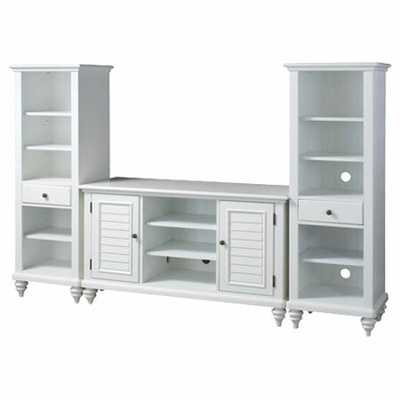 Harrison Solid Wood Entertainment Center for TVs up to 60 inches - Wayfair