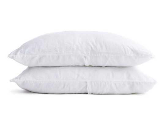 Standard Linen Pillowcases in White | Parachute - Parachute