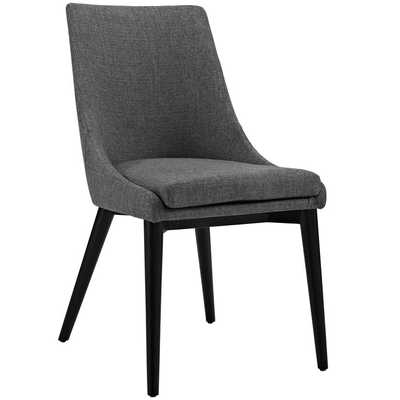 Viscount Fabric Dining Chair in Gray - Modway Furniture