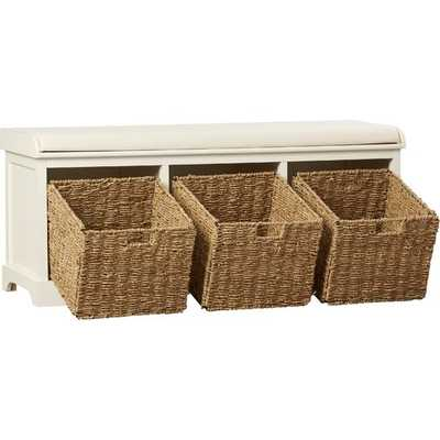 Roselli Upholstered Storage Bench - Birch Lane