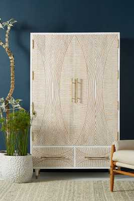 Carved Thalia Amoire - Anthropologie
